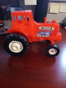 Vintage Ford Red Plastic Tractor