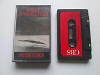 Bruce Springsteen Nebraska Cassette Album CBS 1982
