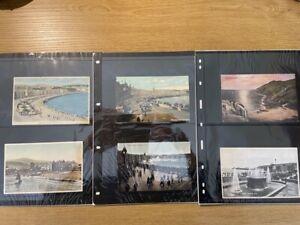 GB Isle of Man range (x32) of old unused postcards, nice range inc sepia etc