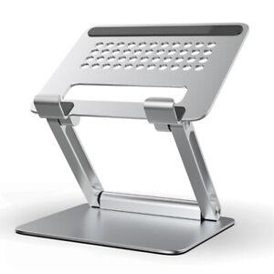 Adjustable Foldable Aluminum Laptop Stand Portable Notebook Riser Tablet Holder
