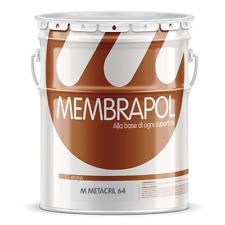 Membrapol Metacril 64 resina per protezione del cemento stampato anti polvere