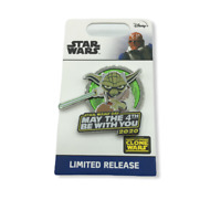 Disney Star Wars May The Force 4th Be With You Yoda Pin Confirmed 2020 Rebels
