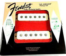 Fender Jaguar Pickup Set '65 Pure Vintage Parts Alnico 5 Magnets
