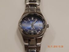 FOSSIL BLUE EDITION STAINLESS STEEL WATCH  WATCHES WRISTWATCH BAND DATE DISPLAY