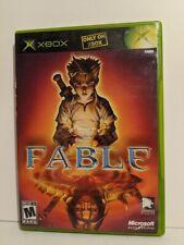 Fable Original XBOX Black Label Game Complete!