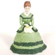 1983 Meg Little Women Figurine Vintage Franklin Mint Fine Porcelain Tasha Tudor