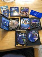 Lot 3 Disney Pixar Classic DVD Movies: Nemo, Monsters, Ratatouille w/Slipcovers