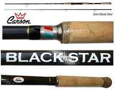 canna spinning black star taigapro 2.70mt 30/80g carbonio pesca luccio barracuda