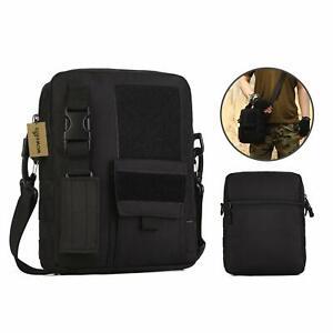 Small Shoulder Bag Crossbody Satchel Travel Vintage Canvas Messenger Bag for Men