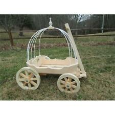 Mini Wedding Wagons Angel Cinderella Carriage Unfinished