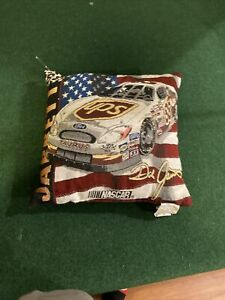 Rare New NASCAR Dale Jarrett UPS Racing Couch Pillow Small Pillow  Vintage