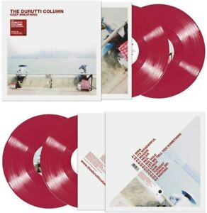 THE DURUTTI COLUMN – KEEP BREATHING 2X RED VINYL LP (NEW/SEALED)
