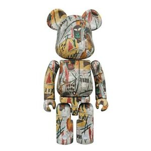 Jean Michel Basquiat 200% Super Alloyed Bearbrick by Medicom Toy NEW