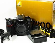 Nikon D7200 24.2MP Digital SLR Camera Body - Boxed - Shutter count 11,956
