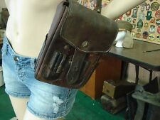 Original WW2 Japanese Army Officer's Leather Map Case & Carrying Strap
