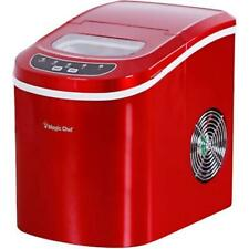 MagicChef Ice Maker 27 lbs/day Portable Red