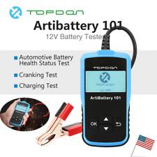 12V 2000CCA Car Battery Load Tester Digital Charging Cranking System Analyzer US