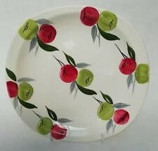 More details for ridgway / booths royal swan flamingo vintage handpainted apples plate