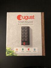 August Smart Keypad (Dark Gray) - never used