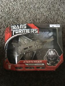 Transformers 2007 Voyager Class Starscream MISB NEW Hasbro Movie Line.
