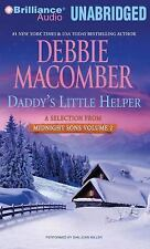 Debbie Macomber * Daddy's Little Helper * Unabridged CD *NEW FAST 1st Class Ship