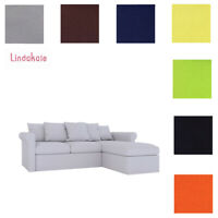 Custom Made Cover Fits IKEA Gronlid Sofa with Chaise, Replace cover