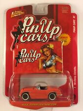Johnny Lightning Pin Up Cars '55 1955 Chevy Corvette Pink + Poster Die-cast 1/64