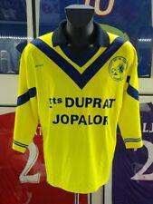 Maillot jersey shirt maglia camiseta trikot france bayonne racing porté worn 90s