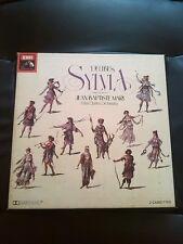 Delibes Sylvia Ballet Vintage 1978 Boxed Cassette Tapes Paris Opera Orchestra