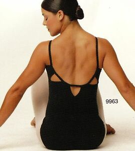 CAPEZIO TRIANGLE BACK LEOTARD CAMISOLE 9963 Lt Blue Navy Garnet Ladies sz