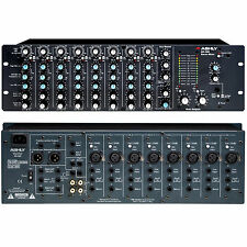 ASHLY MX-508 Dual Space Analog Rackmount 8 Channel Stereo Mixer