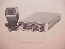 1977 TRUETONE CB RADIO SERVICE SHOP MANUAL MODEL CYJ4732A-77 (23-4732-6C)