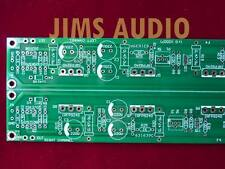 Mosfet class A  stereo power buffer amp huge long PCB  F4 !