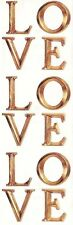 ~ Love Letters Gold Paper House StickyPix Stickers ~