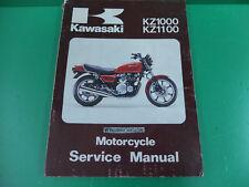 KAWASAKI kz1100 kz 1000 1100 manuale officina riparazione service manual z1100