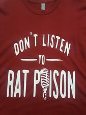 NEW Adult 2XL Alabama Roll Tide Dont Listen To Rat Poison Tshirt Supersoft