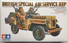 TAMIYA BRITISH SPECIAL AIR SERVICE JEEP 1:35 Cod.35033