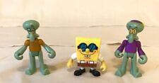 Fisher Price Imaginext Spongebob SquarePants Lot Of 3 Figures Squidward