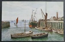 A. R. QUINTON POSTCARD THE HARBOUR WHITSTABLE *2954