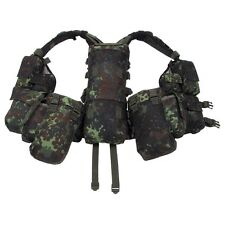 BW German Army Flectarn Camo Pattern Tactical Military Battle Combat Vest - New