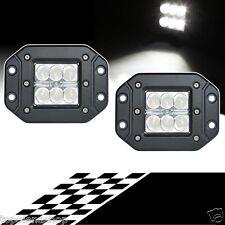 FARO LAMPADA SUPPLEMENTARE PROFONDITA' AUTO FUORISTRADA 12V 6 LED 18W IP68