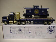 NEW JERSEY NJ STATE POLICE PBA TRUCK TRAIN CABOOSE 0-27/O GAUGE + HESS BATTERIES