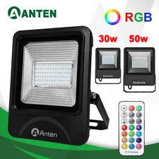 50W/30W LED Fluter Flutlicht RGB Außen Scheinwerfer Strahler Garten Lampe IP66