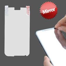 Mirror LCD Screen Cover Protector Film w/ Cloth Wipe for Samsung Galaxy Note II