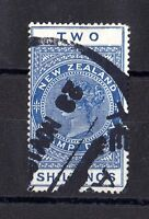 New Zealand 1915 2/- Official Stamp Duty Fine Used X6301