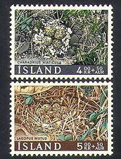 Iceland 1967 Birds/Nests/Eggs/Wildlife/Nature/Charity Fund 2v set (n36686)