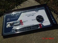 Mercedes-Benz ((GIFT SET)) license frame stem cap key chain W211 W222 W221 W220