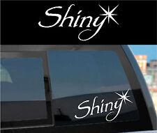 """FIREFLY SERENITY Vinyl Decal Sticker """"Shiny"""" -cheap gift!"""