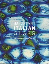 WRIGHT ITALIAN GLASS Barovier Bianconi Martens Martinuzzi Scarpa Venini Catalog