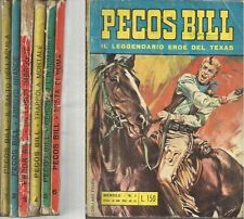 PECOS BILL IL LEGGENDARIO EROE DEL TEXAS COMPLETA 1-6 ED.EURORAMA 1969